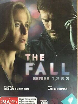 THE FALL - The Complete Series 1-3 6 x DVDs AS NEW! Season 1 2 3