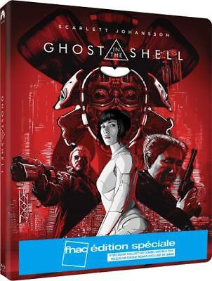 GHOST IN THE SHELL STEELBOOK Blu Ray + DVD Edition Fnac NEUF SOUS BLISTER