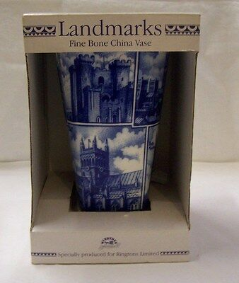 Ringtons Landmarks Vase Approx. 23 cm Tall Featuring Famous British  Buildings