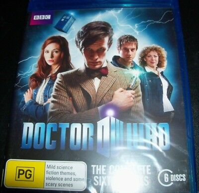 Doctor Who The Complete Sixth Series 6 (Australia Region B) Bluray – New