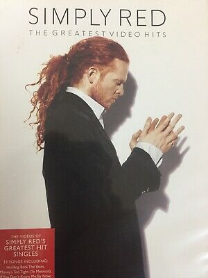 SIMPLY RED - The Greatest Video Hits - Best Of DVD AS NEW!