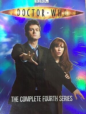 DOCTOR WHO - Series 4 6 x DVD Box Set Exc Cond! Complete Fourth Series Four