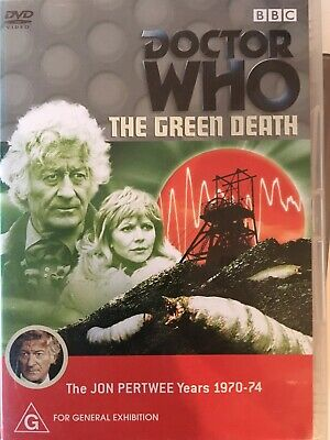 DOCTOR WHO - The Green Death DVD BBC AS NEW! Jon Pertwee