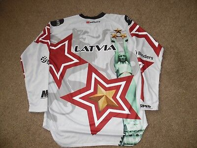 Team Latvia Motocross Des Nations Jersey Size Medium .Excellant Condition.