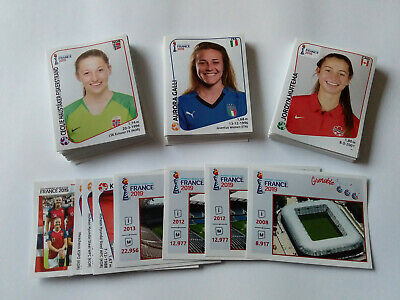 Panini Wc Coupe Du Monde Women France 2019 Lot De 20 Images Stickers Au Choix