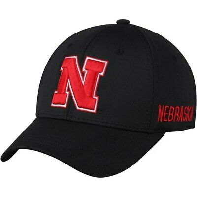 new product 7cdd7 0dde0 Top of the World Nebraska Cornhuskers Black Choice Flex Hat