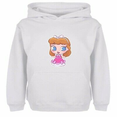 Boys Girls Hoodies Sweatshirt Pullover Disney Princess Petite Ella Kids Gift Top