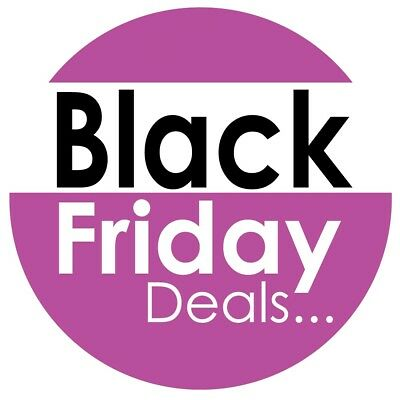 Black Friday Sale Removable Retail Shop Sale Window Stickers | Re-Usable Pack