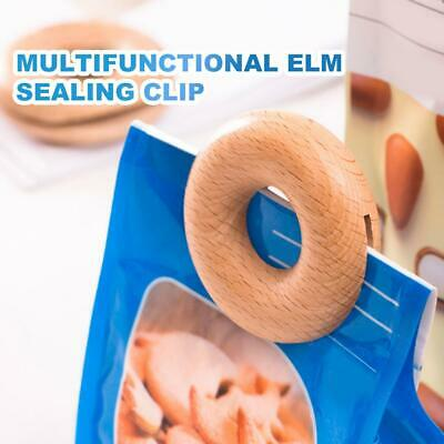Magnetic Food Storage Seal Sealing Pour Bag Clip Sealer Close Clamp Clip Kitchen