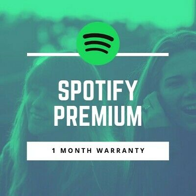 SPOTIFY PREMIUM ACCOUNT (1 Month Warranty)