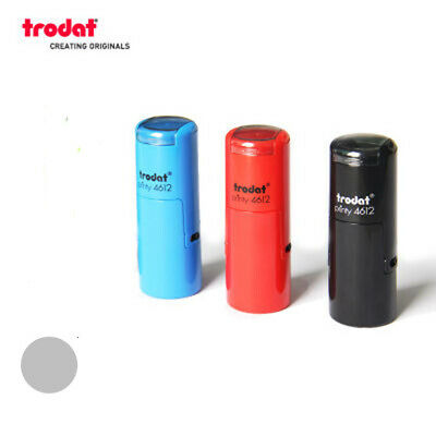 Custom Self Inking Rubber Stamp Trodat 4612 ROUND  diameter 12mm Loyalty Card
