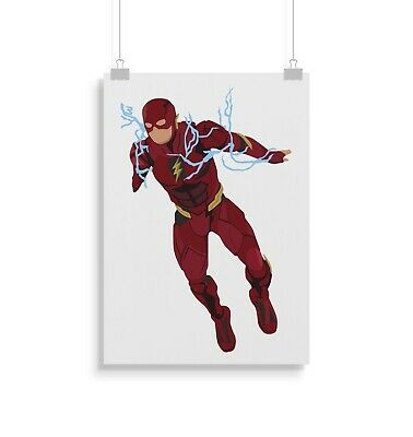 The Flash, print, poster, prints, posters, wall art, gift, gifts