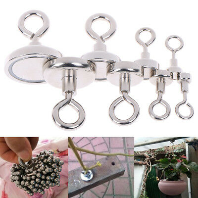 1Pcs Strong neodymium magnet round pulling force river fishing magnetic CPEV