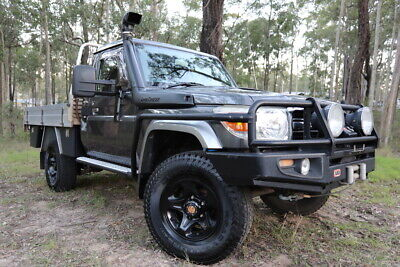2010 Toyota Landcruiser GXL 79 series LOADED WITH GEAR! Easy finance!