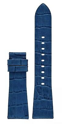 NEW! MICHAEL KORS Bradshaw Access Medium Blue Leather Watch Strap MKT9017 $50