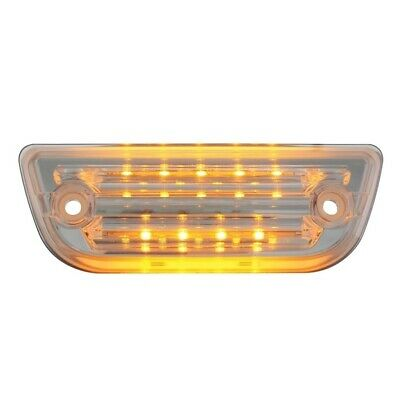 Peterbilt 579 /KW T660 amber 9 diode LED replacement visor light w/OEM Plug