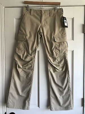 Under Armour Tactical Patrol Cargo Pants 1254097-290 Desert Sand Womens 6
