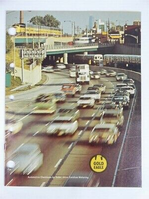 1978 Vintage GOLD EAGLE - Automotive Products SELL SHEET & JOBBERS Catalog