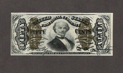 50 Cent Fractional Currency 3rd Issue Spinner T.II, Fr 1342, AU++, NICE!!