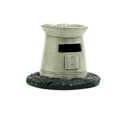 Tcc Handcrafted Painted 2 Piece Letter Box Pewter Thimble