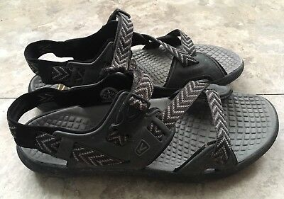 7e21b78ff219 KEEN MENS MAUPIN Sport Sandals Black Gray 9 -  29.99