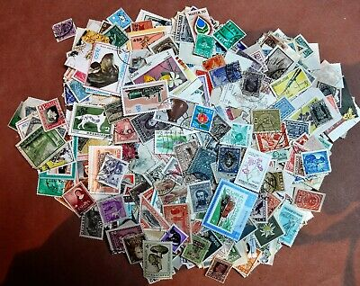 1000 Different Worldwide Stamps, NO US stamps, MINT, NH, Hinged, etc. Off Paper