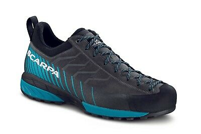 Scarpa Mescalito GTX Men 0853-shark/lakeblue