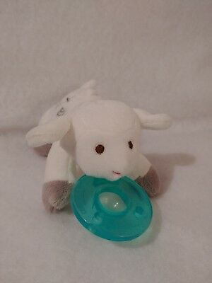 Mary Meyer Wubbanub Soothie Pacifier God Bless Lamb