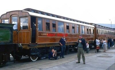 Photo  Gnr Great Northern Railway Directors' Saloon At The 2003 Doncaster Works