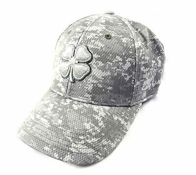 5a49322979a7a NEW BLACK CLOVER Live Lucky BC Freedom 2 Grey Tan Camo Fitted L XL ...