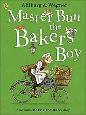 Master Bun the Bakers' Boy By Allan Ahlberg NEW (Paperback) Childrens book