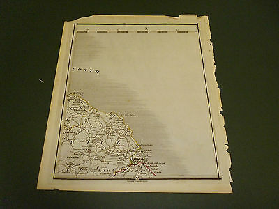 100% Original Berwickshire Map By John Cary C1794 Vgc Low Postage