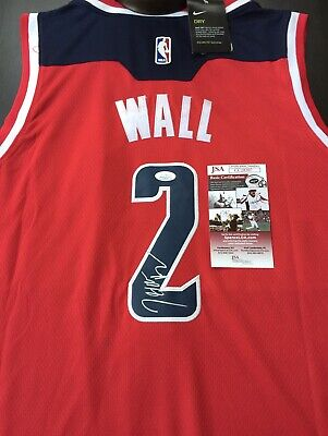 95d001abb JOHN WALL SIGNED Wizards Autograph Jersey Brand New With Tags JSA ...