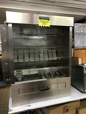 Southwood RG4 Gas 20 Chicken Commercial Rotisserie Oven Machine