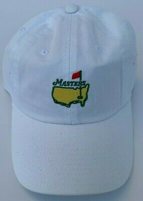 bea8964bc0bef 2019 Masters White Golf Hat Slouch Augusta National Golf Club Cap - New