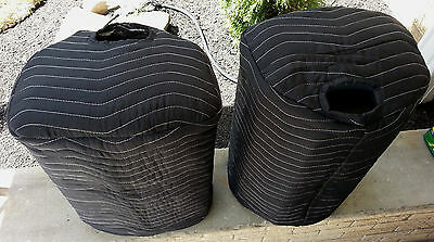 BEHRINGER B112D B112W B12X Premium Padded Black Covers (2)  Qty of 1 = 1 Pair!