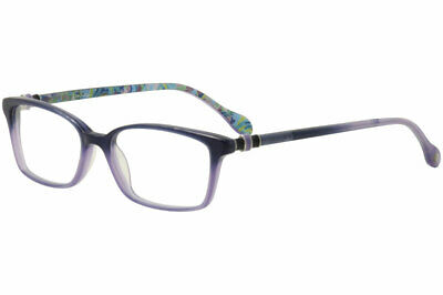 d5467dd1281 Lilly Pulitzer Women s Eyeglasses Fulton NV Navy Lavender Optical Frame 52mm