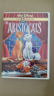 WALT DISNEY The ARISTOCATS GOLD COLLECTION DVD Movie Video very good++ condition