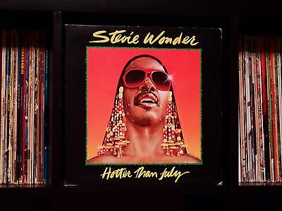 Stevie Wonder ♫ Hotter Than July ♫ Rare 1980 Tamla Record Club LP w/MLK Sleeve