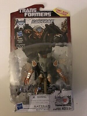 Transformers Generations Rattrap With Comic Included New Mint Sealed