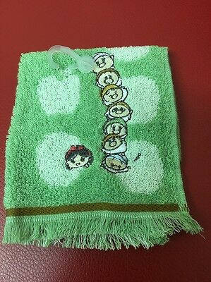 Disney Store Japan: Tsum Tsum Snow White And The Seven Dwarfs Towel (H5)
