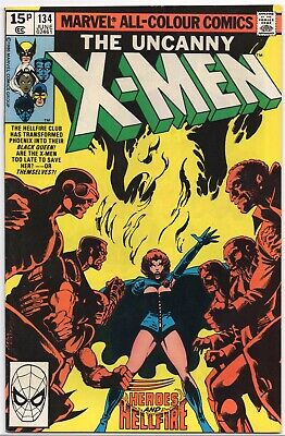 UNCANNY X-MEN #134 Dark Phoenix Claremont Byrne Marvel Comics 1980 VF+/NM-