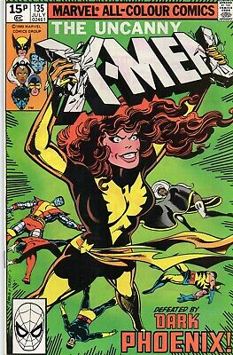 UNCANNY X-MEN #135 Dark Phoenix Claremont Byrne Marvel Comics 1980 NM