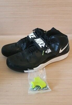 f4bdd5651449 Nike Zoom Javelin Elite 2 With Spikes Black White Volt 631055-017 Size