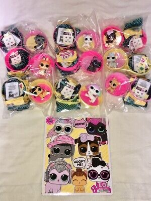 Lot 10 NEW Authentic LOL SURPRISE PETS SERIES 3 GLITTERS PUB BEE ~ See More DOLL