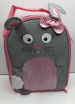 Marks And Spencer Kids Thinsulate Girls Pink Lunch Bag   M&S