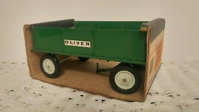 1/16 Ertl Farm Toy Oliver Barge Wagon In Bubble Box