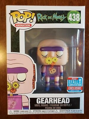 Funko Pop! Rick and Morty #438 Gearhead NYCC 2018 Exclusive New pop animation