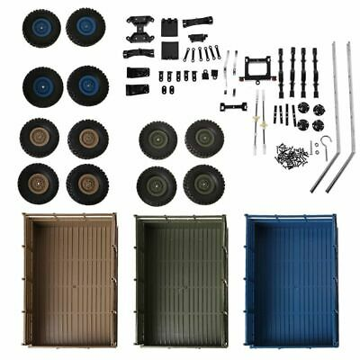 Upgrade Trailer DIY Part Set For WPL 1/16 Military Truck RC Car DIY Accessories