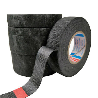 25m Temperature Resistance Adhesive Cloth Insulation Tape for Cable Harness NEW